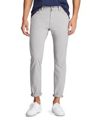 pantalón gris polo ralph lauren m classics 2 grey varick slim straight