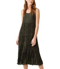eileen fisher silk tiered dress