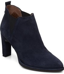 m-4303 shoes boots ankle boots ankle boots with heel blå wonders