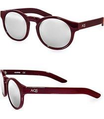 benni 49mm round sunglasses