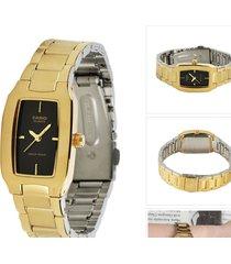 reloj casio dama modelo ltp 1165n-1c dorado  original
