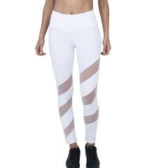 calza leggings white con transparencia bia brazil