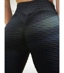 yoins basics leggings deportivos súper elásticos con cintura elástica