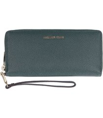 michael kors money pieces grain leather wallet