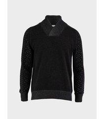suéter cuello caracol para hombre 12696