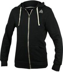 sweater reebok sport fitness el french terry full zip