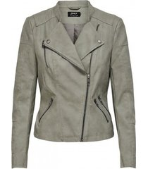 blazer only chaqueta mujer cuero 15102997