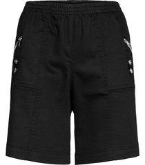 sc-akila shorts flowy shorts/casual shorts svart soyaconcept