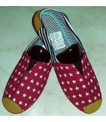 zapatillas boweipeiqi con estrellas pequeñas