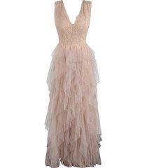bohemian tulle dress