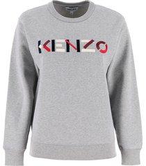kenzo sweatshirt with logo embroidery