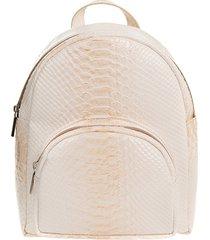 beżowy mini plecak maliv