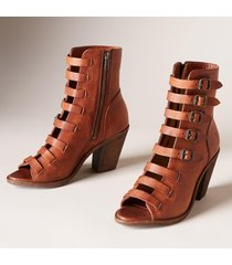 women's frye izzy belted short sandals