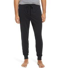 men's polo ralph lauren knit jogger pajama pants, size x-large - black