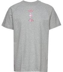 zeno tee t-shirts short-sleeved grå adidas originals