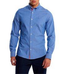 d1.tp slim stretch oxford overhemd