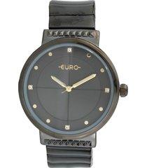 relógio euro eu2035yob/4p preto