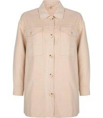 blousejas flausch beige