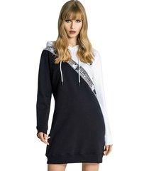 yin yang hoodie dress