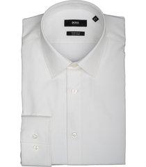 hugo boss overhemd eliott wit regular 50410151/100