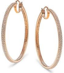 adriana orsini women's cubic zirconia drop earrings