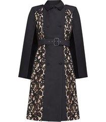 genevieve lace cape dress