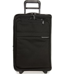 briggs & riley baseline 22-inch domestic rolling carry-on garment bag - black