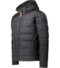 donsjas cmp padded softshell zip hood jacket