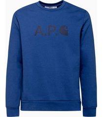 a.p.c. carhartt wip sweatshirt coego-h27596