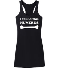 i found this humerus funny science geek shirt racerback dress