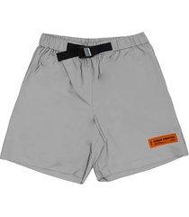 heron preston reflex shorts