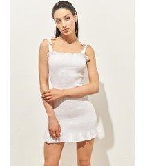 vestido blanco 47 street frida
