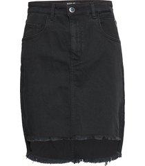 skirt kort kjol svart replay