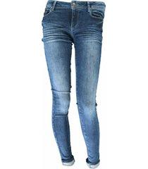 cars victoria str denim stw/bl used jeans licht | freewear jeans