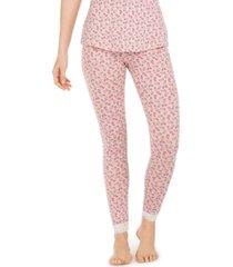 vera bradley montague floral-print pajama leggings
