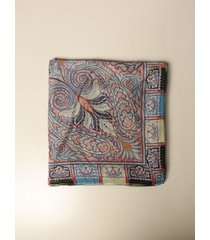 etro neck scarf etro bombay shawl in patterned silk