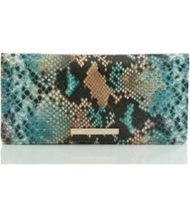 brahmin ady lilyana embossed leather wallet