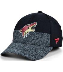 authentic nhl headwear arizona coyotes 2020 locker room flex cap