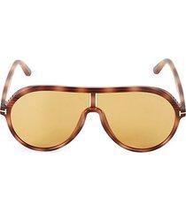 63mm aviator sunglasses