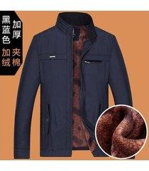 abrigo hombre azul chaquetas de invierno para hombre de mediana edad