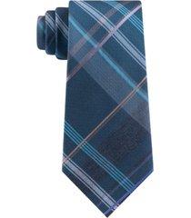 kenneth cole reaction men's slim plaid tie
