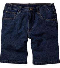 bermuda di jeans con cinta semielastica classic fit (blu) - john baner jeanswear