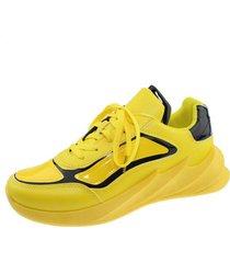 zapatilla amarillo via franca