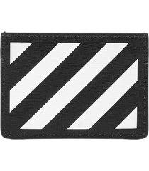 off-white diag card holder