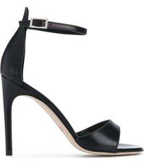 paul warmer 105mm open toe sandals - black