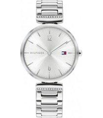 reloj plateado tommy hilfiger 1782273 - superbrands