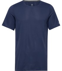 p h.rdy tee m t-shirts short-sleeved blauw adidas performance