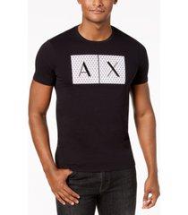 ax armani exchange men's foundation triangulation t-shirt archived