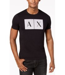 ax armani exchange men's foundation triangulation t-shirt