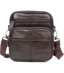 bolsa de hombro- bolsos mensajero ocasionales-marrón